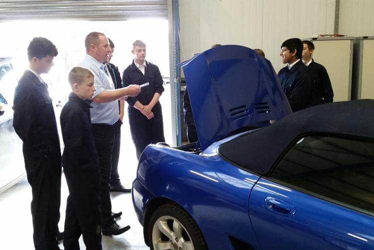 Motor Vehicle lesson at the Centre
